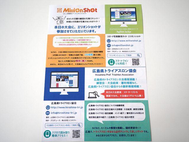 広島県トライアスロン協会 × ミリオンショット × リコネクト