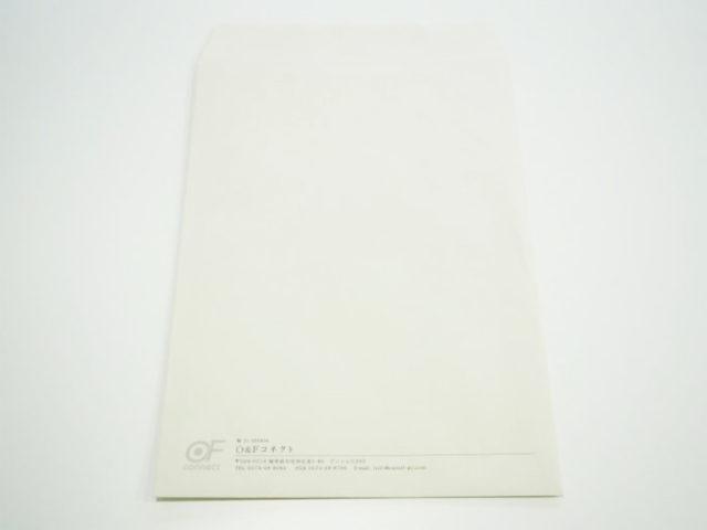 O&Fコネクト 様 角2色付き封筒