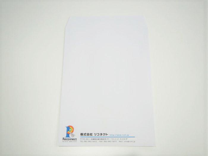 株式会社リコネクト 角2封筒