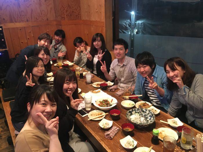 フロント・事務サポート大野さん歓迎会!