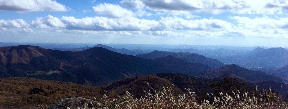 道後山からの景色