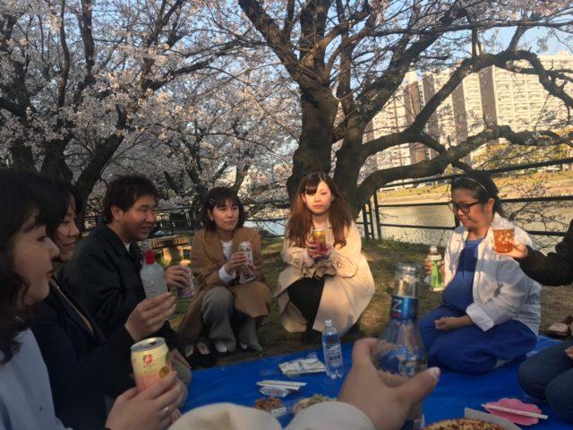 株式会社リコネクト_お花見