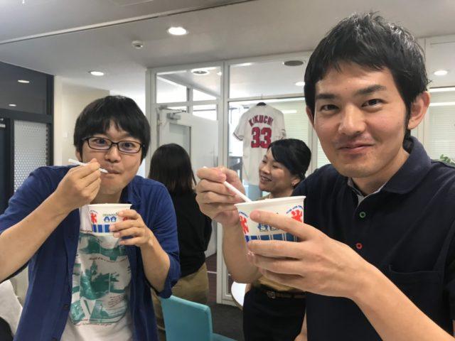 株式会社リコネクト_かき氷パーティー