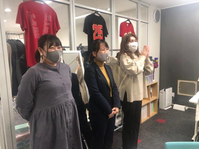 株式会社リコネクト_小倉さん・隠岐さん・田中さん激励会